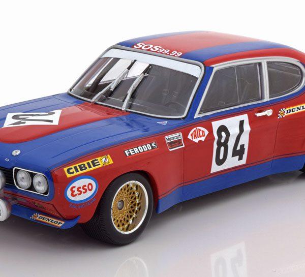 Ford Capri RS 2600 No.84, 24h Le Mans 1972 Rouget/Geurie 1-18 Minichamps Limited 336 Pieces