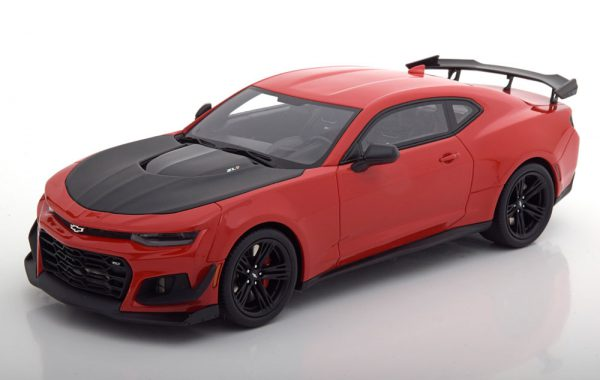 Chevrolet Camaro ZL1 1LE Nürburgring Record Car 2018 Rood / Zwart 1-18 GT Spirit Limited 500 Pieces