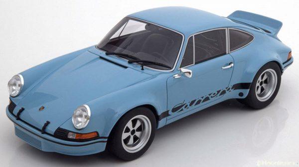Porsche 911 2.8 RSR Helblauw / Zwart 1-18 GT Spirit Limited 504 Pieces
