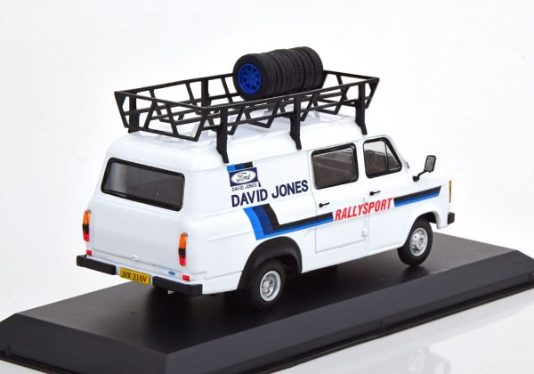 "Ford Transit MK2 Rally Assistance 1979 ""David Jones"" 1-43 Ixo Models"