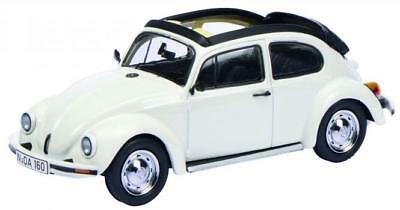 "Volkswagen Kever ""Open Air "" Wit 1-43 Schuco Limited 1000 Pieces"