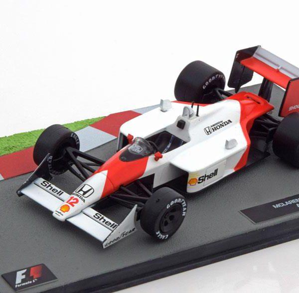 McLaren Honda MP 4/4 1988 Aryton Senna 1-43 Atlas Collection