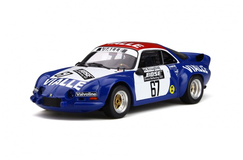 Renault Alpine A110 Gr.5 Rallye Cross 1977 #67 Team Vialle 1-18 Ottomobile Limited 999 Pieces