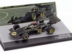 Lotus 72E GP Canada 1973 World Champion Emerson Fittipaldi 1-43 Atlas F1 Brazilian Collection