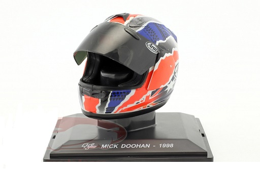 Helm Mick Doohan World Champion 500cm³ 1998 1:5 Altaya