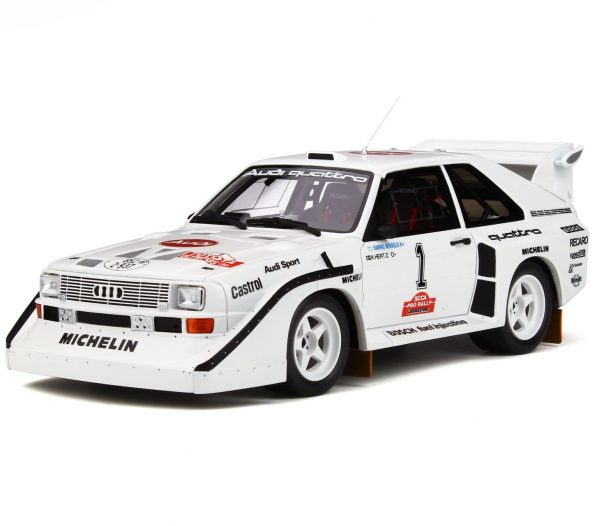 Audi Sport quattro S1 Olympus Rally 1985 #1 H. Mikkola 1-18 Ottomobile Limited 999 Pieces