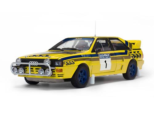 Audi Quattro A2 #1 winnaar Rallye Hong Kong - Beijing 1985 Mikkola, Hertz 1:18 SunStar Limited 1999 Pieces