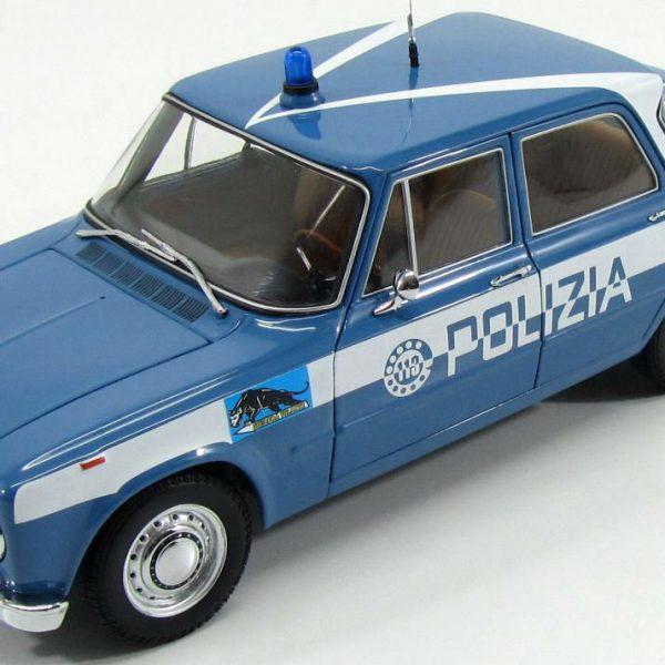 """Alfa Romeo Giulia Super 1600 """"Polizia """"1-18 Minichamps Limited 500 Pieces"""