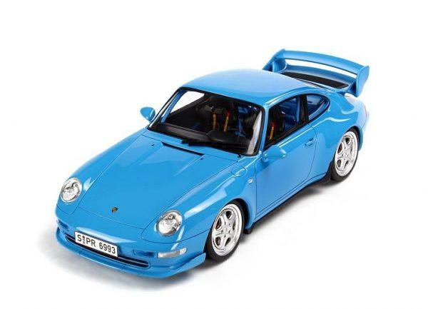 Porsche 911 Carrera RS Club Sport ( 993 ) 1995 Lichtblauw 1-18 GT Spirit Limited 1500 Pieces