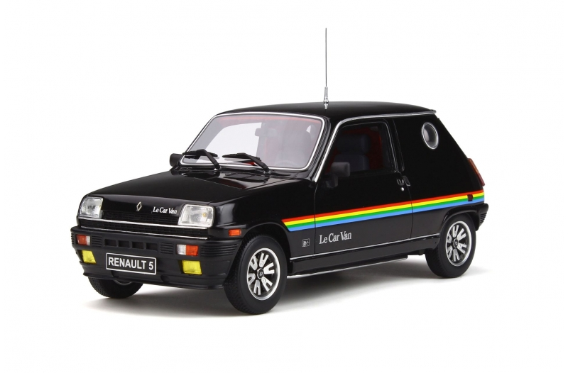Renault 5 Le Car Van 1980 Zwart 1-18 Ottomobile Limited 1500 Pieces