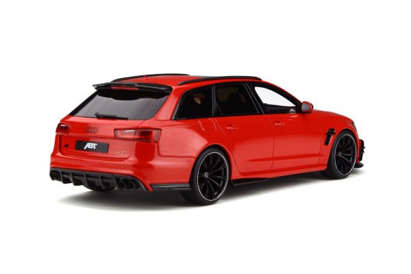 Audi RS6 ABT 2017 Rood 1-18 GT Spirit Limited 999 Pieces