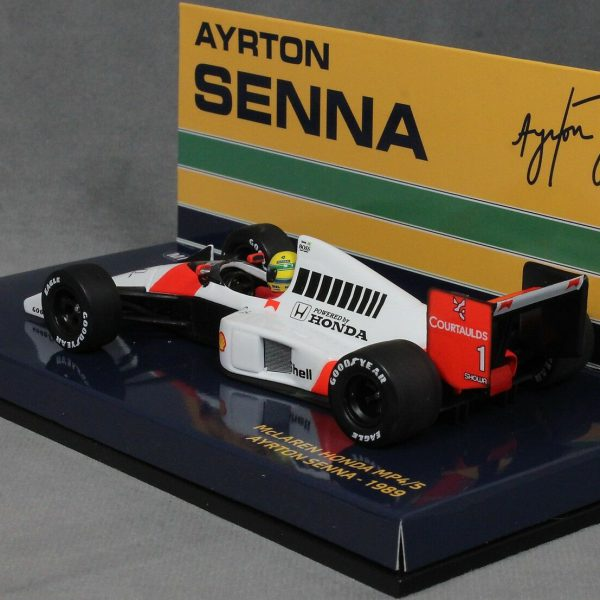 McLaren Honda MP4/5 Ayrton Senna 1989 Minichamps Senna Collection