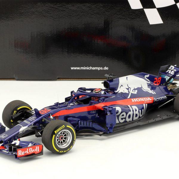 Red Bull Scuderia Toro Rosso Honda STR13 2018 #28 Brendon Hartley 1-18 Minichamps