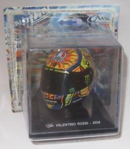 Helm Valentino Rossi 2009 World Champion 1-5 Altaya