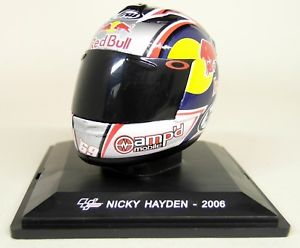 Helm Nicky Hayden Red Bull 2006 1-5 Altaya
