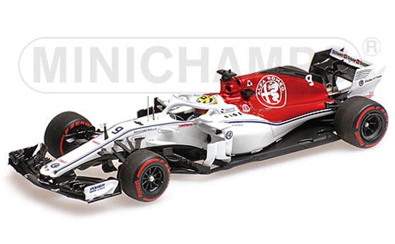 Alfa Romeo Sauber F1 Team Sauber C37-Ferrari M.Ericsson Monaco GP 2018 Minichamps 1-43 Limited 220 Pieces