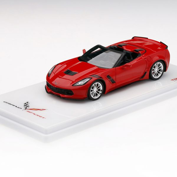 Chevrolet Corvette C7 Grand Sport Convertible 2017 Torch Red 1-43 TSM Models