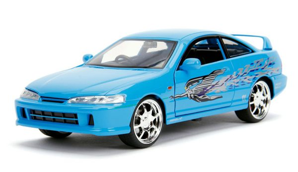 Mia's Acura Integra - Fast and Furious (2001) 1-24 Lichtblauw Jada Toys