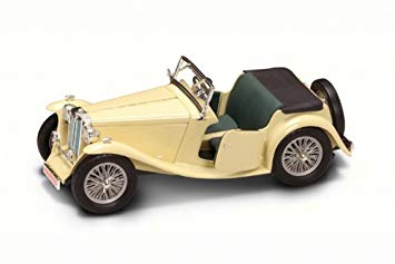 MG TC Midget 1947 1:18 Beige Lucky Diecast