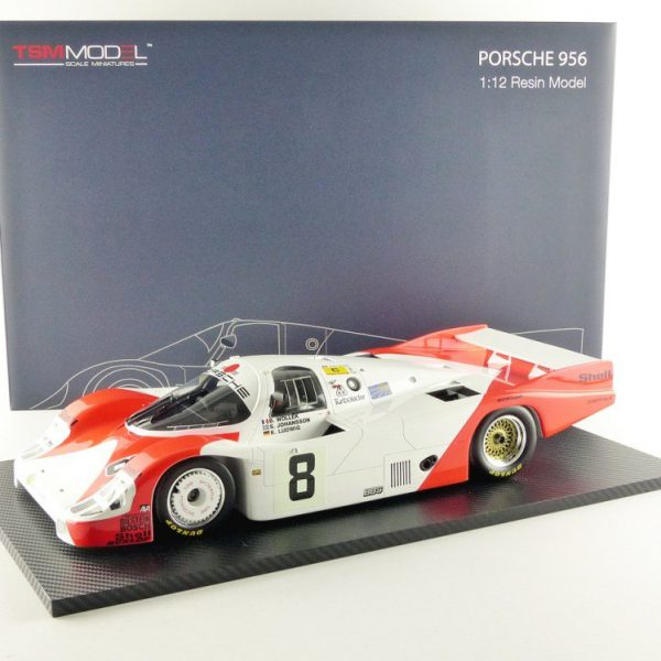 Porsche 956 Le Mans 1983 #8 Sorga SA Wollek/Ludwig/Johansson 1-12 True Scale Miniatures Limited 300 Pieces