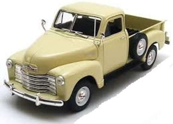 Chevrolet 3100 Pick Up 1953 Beige 1-18 Welly