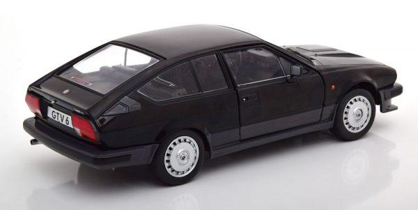 Alfa Romeo GTV 6 1984 Zwart Metallic 1-18 Solido