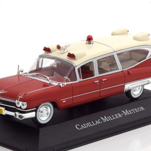 Cadillac Miller Meteor Ambulance 1959 1:43 Atlas Collection