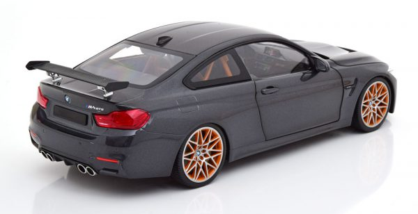 BMW M4 GTS 2016 Donkergrijs Metallic 1-18 GT Spirit Limited 402 Pieces
