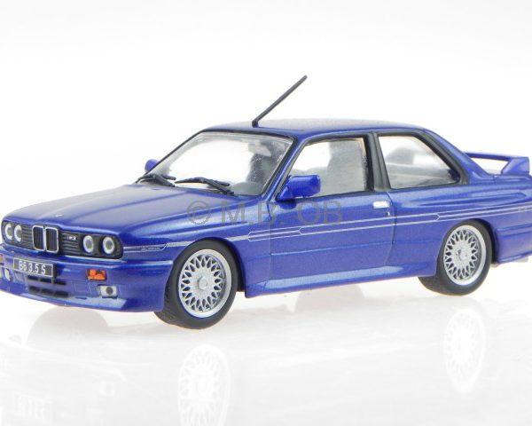 BMW E30 Alpina B6 3.5S 1988 Blauw 1-43 Whitebox Limited 1000 Pieces