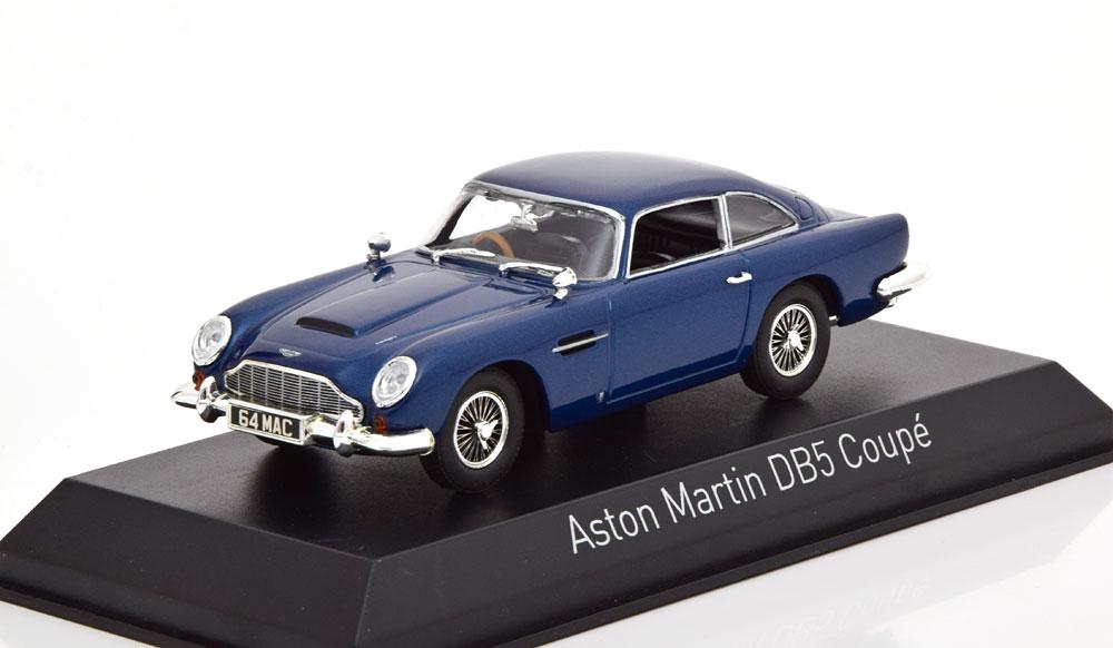 Aston Martin DB5 Coupe 1964 Blauw 1-43 Norev