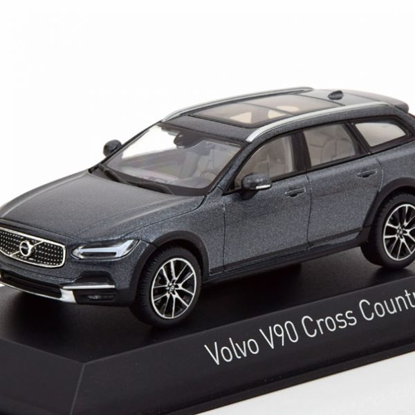Volvo V90 Cross Country 2017 Grijs Metallic 1-43 Norev