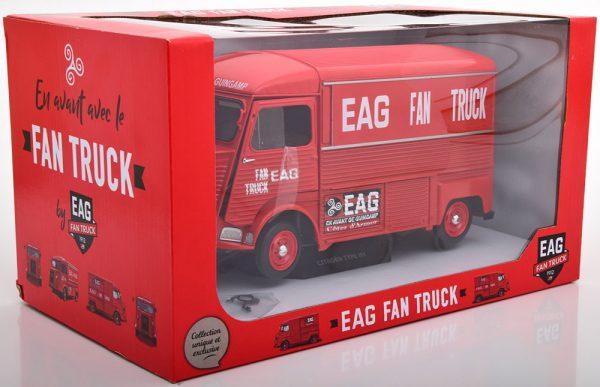 Citroen Type HY EAG Fan Truck 1969 1:18 Rood Solido