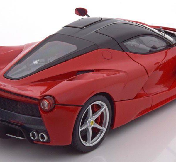 Ferrari La Ferrari 2013 Rood 1:18 Hotwheels