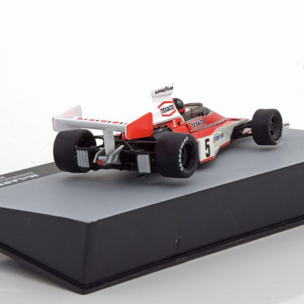 McLaren M23 GP Spanje, World Champion 1974 Fittipaldi 1-43 Atlas F1 Brazilian Collection