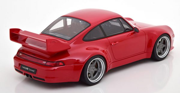 Porsche 911 (993) Gunther Werks 400R Rood 1-18 GT Spirit Limited 999 Pieces