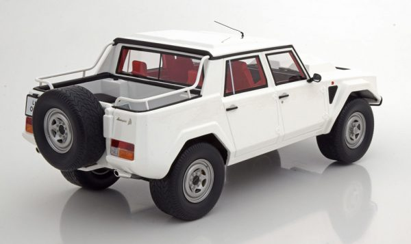 Lamborghini LM002 1986-1993 Wit 1-18 GT Spirit Limited 500 Pieces