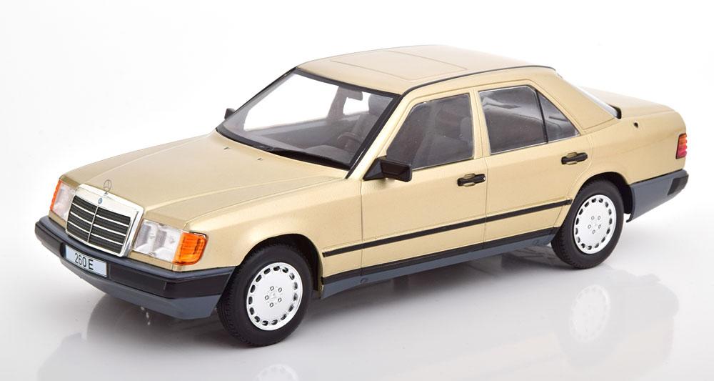 Mercedes-Benz 260 E W124 Limousine 1984 Goud Metallic 1-18 MCG Models