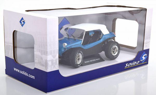 Volkswagen Buggy Meyers Manx Soft Roof 1970 1:18 Blauw Solido