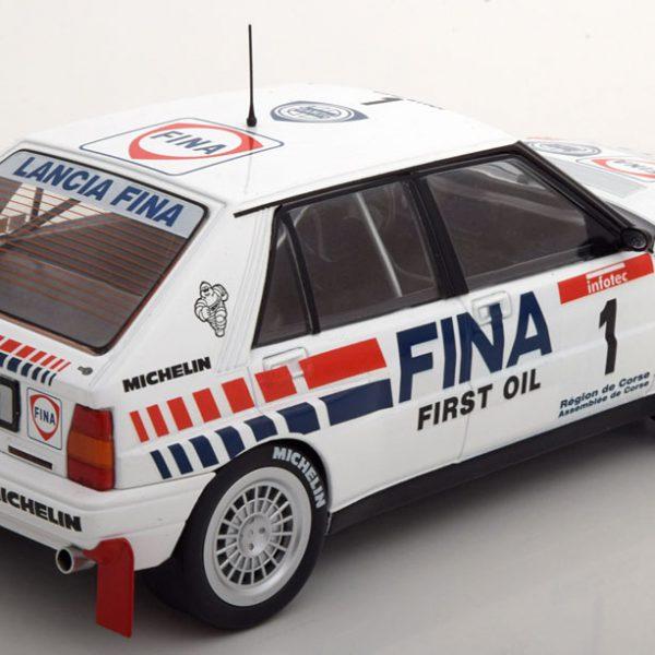 """Lancia Delta Integrale 16V #1 """"Fina"""" Tour De Course 1991 Occelli/Auriol 1:18 Solido"""