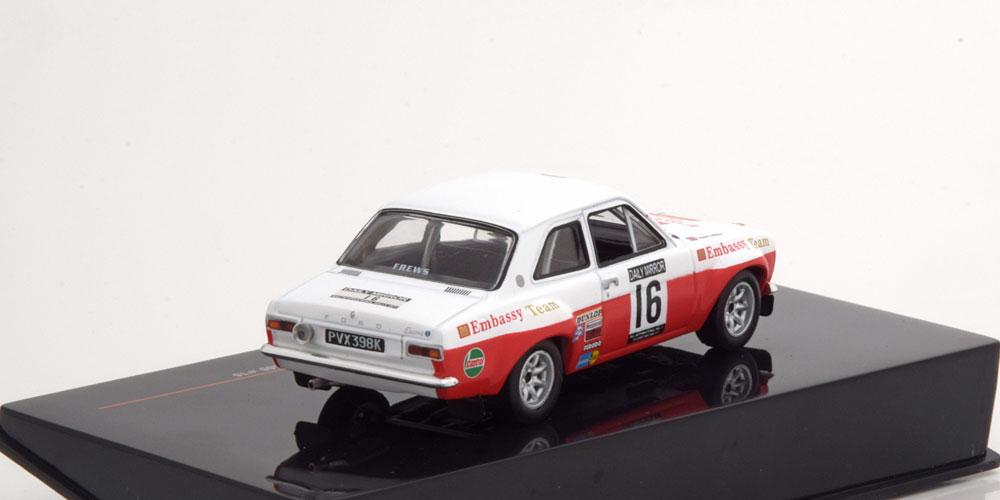 Ford Escort MK1 RS1600 No.16, RAC Rally 1971 Mäkinen/Liddon 1-43 Ixo Models