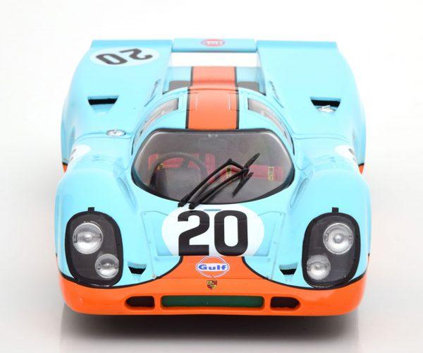 """Porsche 917K No.20, 24h Le Mans 1970 """"Gulf """" Siffert/Redman 1-18 CMR"""