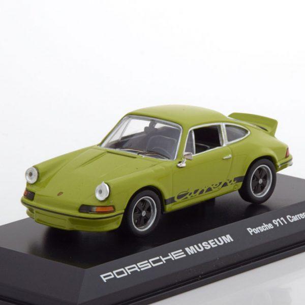 Porsche 911 Carrera 2.7 RS 1973 Groen / Zwart 1-43 Welly GT
