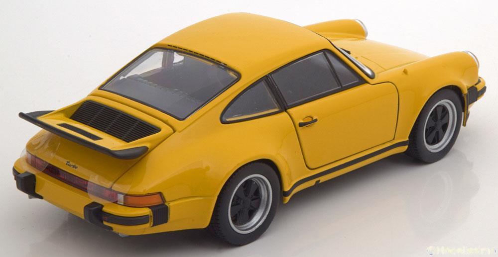 Porsche 911 Turbo 3.0 1974 Geel 1-24 Welly