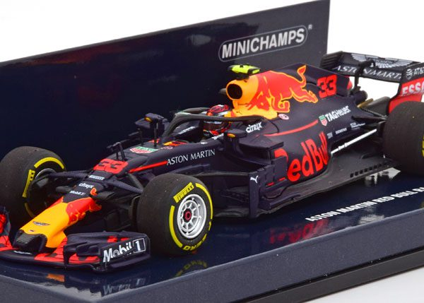 Red Bull Racing Aston Martin Tag Heuer RB14 2018 Max Verstappen 1-43 Minichamps
