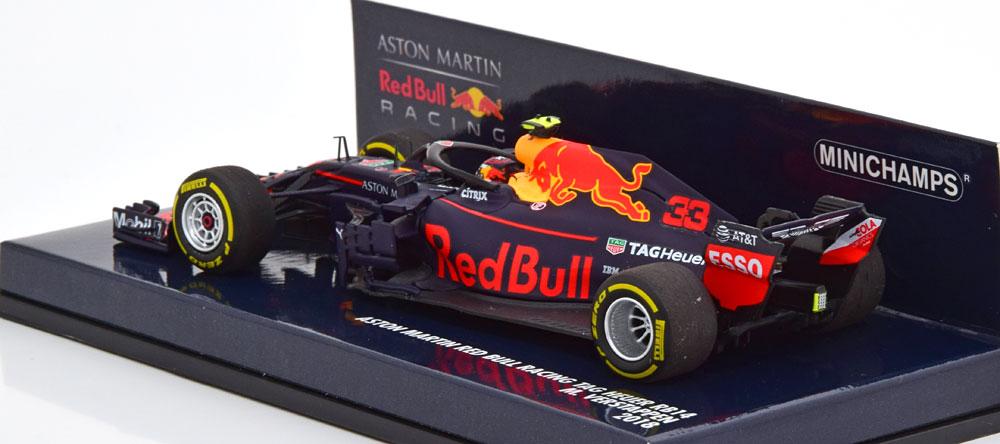 Red Bull Racing Aston Martin Tag Heuer RB14 2018 Max Verstappen 1-43 Minichamps