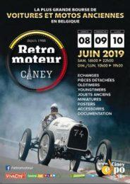 Retromoteur in Ciney Expo, van zaterdag 8 tot maandag 10 juni 2019 Oldtimerbeurs
