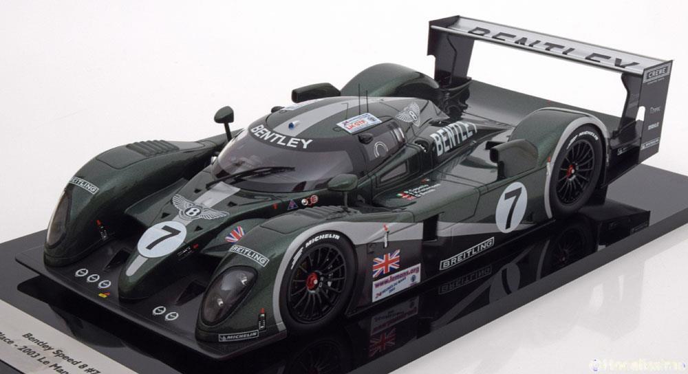 Bentley Speed 8 #7 Winner 24h LeMans 2003 Drivers: Capello/Kristensen/Smith 1:18 TSM Models