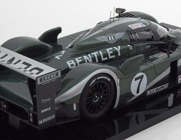Bentley Speed 8 #7 Winner 24h LeMans 2003 Drivers: Capello/Kristensen/Smith 1:18 TSM Models