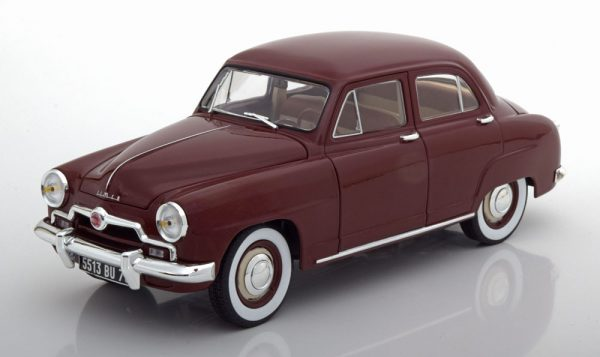 Simca 9 Aronde 1953 Donkerrood 1-18 Norev
