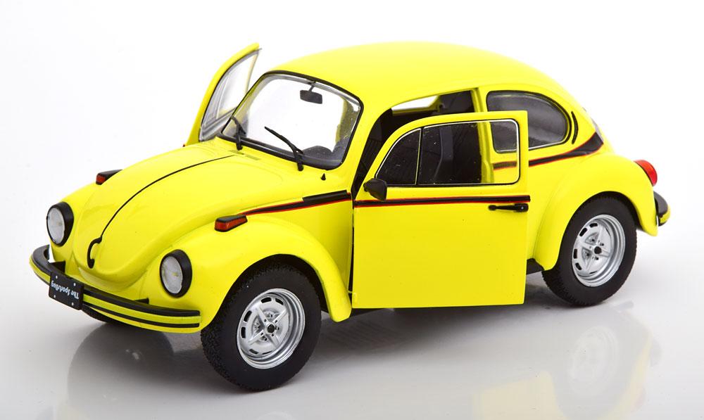 Volkswagen Beetle Sport Bug 1303 Geel 1:18 Solido